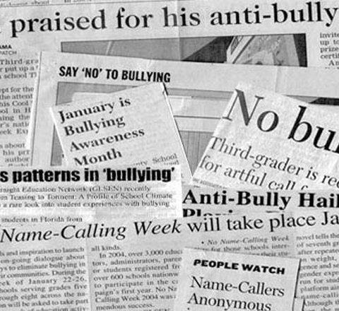 Anti bullying history