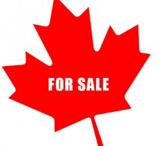 Canada: For Sale; Dictatorships Save Big!