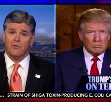 Sean Hannity says Obama has a sick obsession with Trump